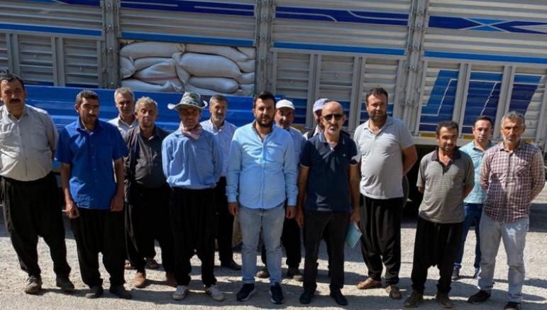 Birlik yem dağıttı, üretici 1.5 milyon lira kâr etti