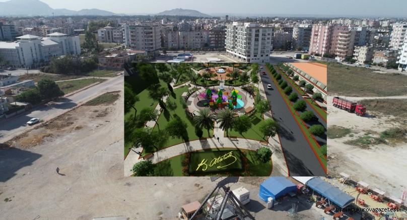 Ceyhan Belediyesi her mahalleye park sözünü yerine getiriyor