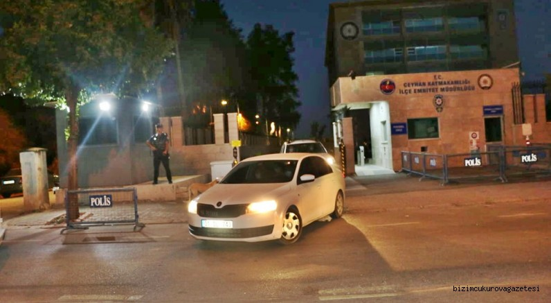 Ceyhan'da silahlı suç örgütü operasyonunda 3 tutuklama