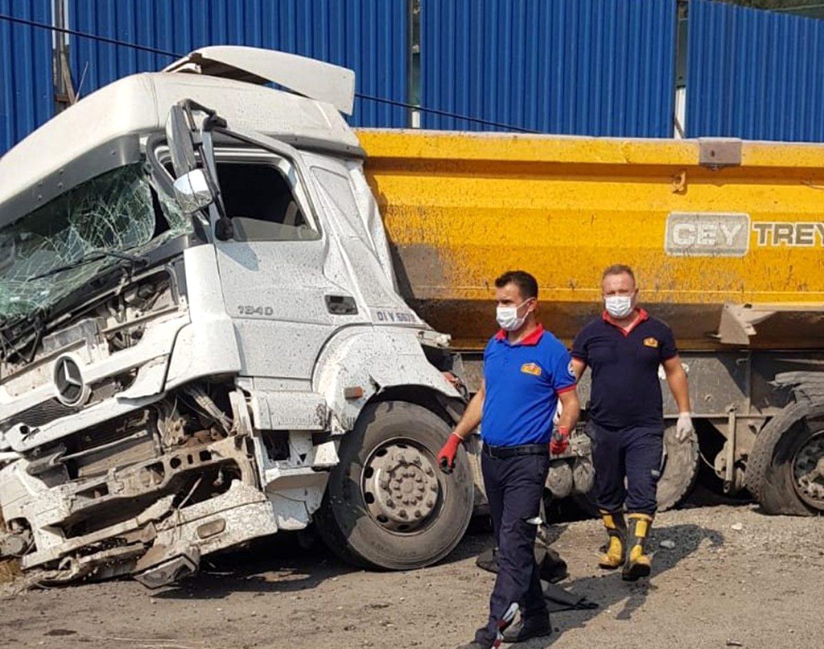 Ceyhan'da Trafik Kazası 1 Ölü