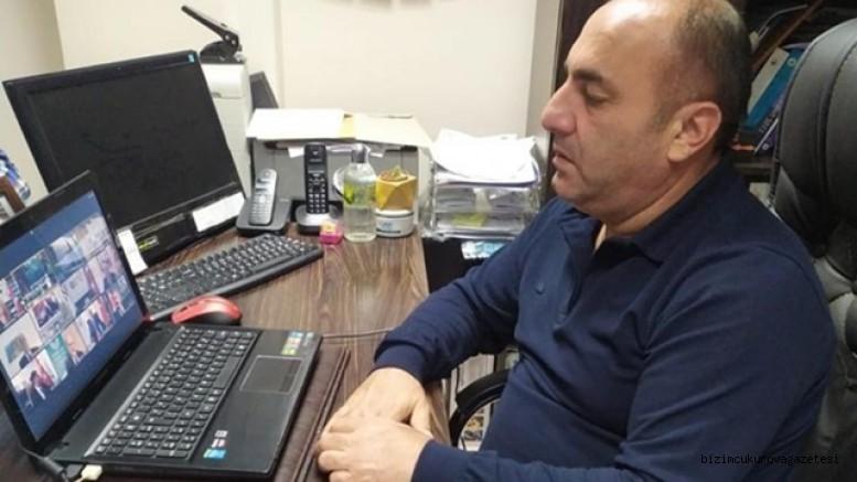Mustafa Aydar, TOBB Ekonomi Şurasına telekonferansla Katıldı