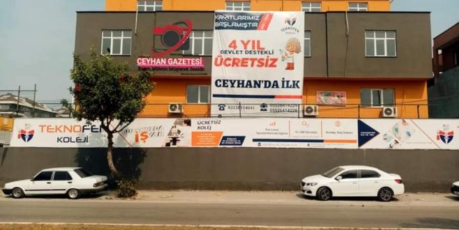 TEKNOFEN KOLEJİ ARTIK CEYHAN'DA